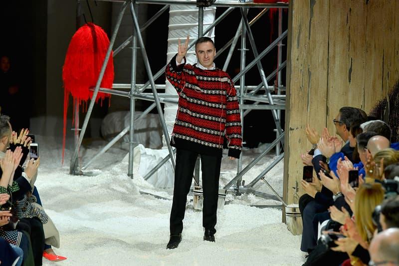 Raf Simons Calvin Klein Kvadrat Fashion Art Design Milan Design Week The Guardian Observer Interview