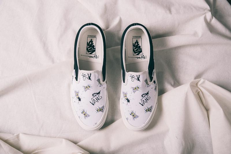 vans vault ralph steadman collection collaboration slip on style 138 sk8 hi painting artwork release date info shoes