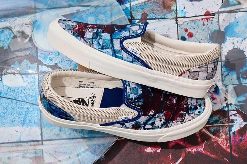 Ralph Steadman Vans Vault Complete Collaboration collection sk8 hi lx slip on lx og style 138 wildaid april 27 2019 release date info buy