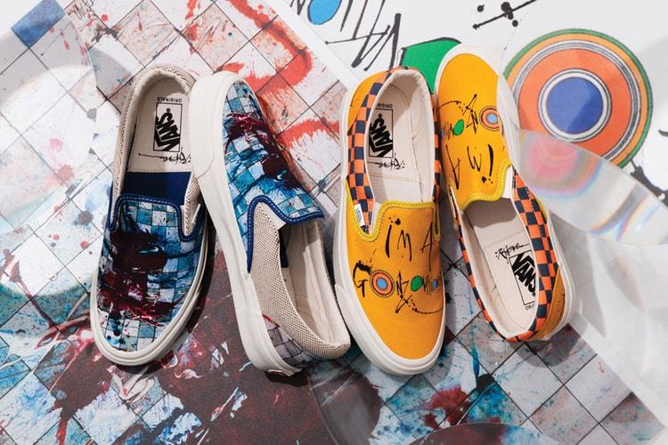2de966ce1b682a Ralph Steadman x Vans  The Full Collaborative Collection. Footwear