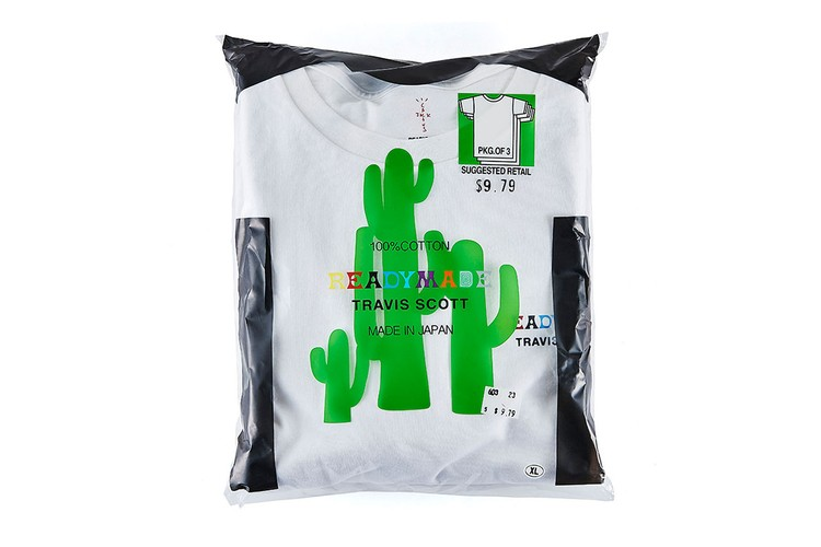 89bb9422e53444 Travis Scott   READYMADE Finally Launch Collaborative  Astroworld  T-Shirt  Pack