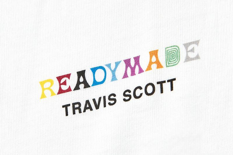 Travis Scott x READYMADE 3-Pack T-Shirt Collaboration release date info astroworld april 13 2019 drop buy white graphic print