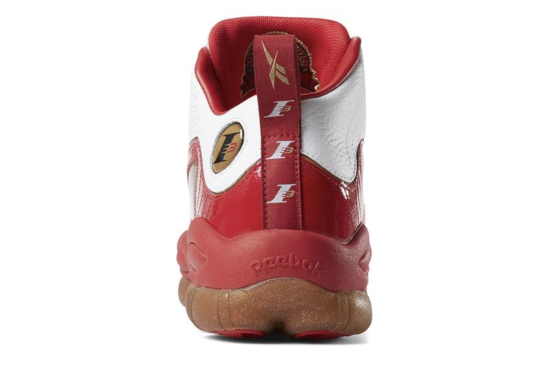 Reebok Iverson Legacy CN8406 Red White Ferrari Colorway Retro OG Gum Sole Spring Summer 2019 SS19 Footwear High Top Drop Release Information