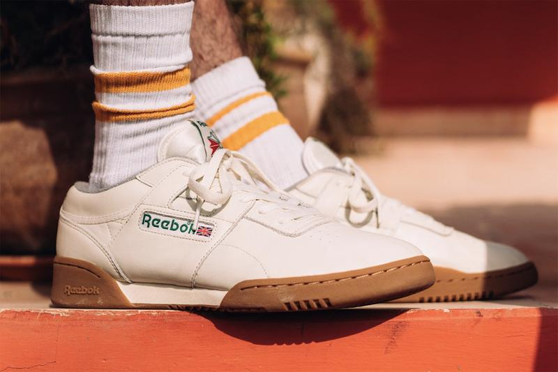 2ad11d1f2b7 Reebok Workout Clean MU Oi Polloi Collaboration Second Edition Spring  Summer 2019 SS19 Pair Sneaker Release
