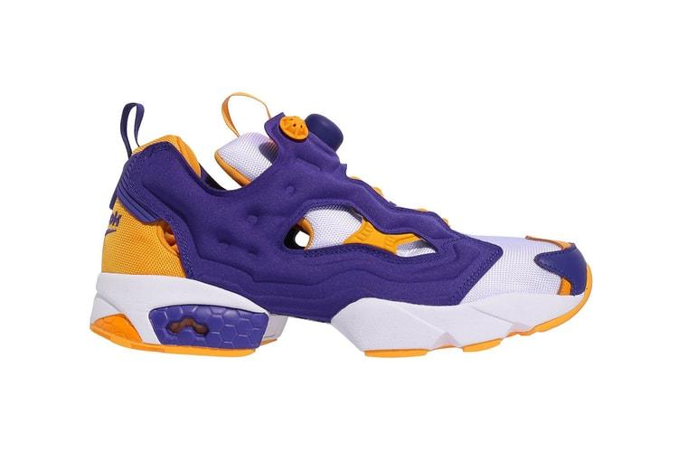 9120bd9930542 Reebok s Latest Instapump Fury OG Is for Die-Hard Lakers Fans · Footwear