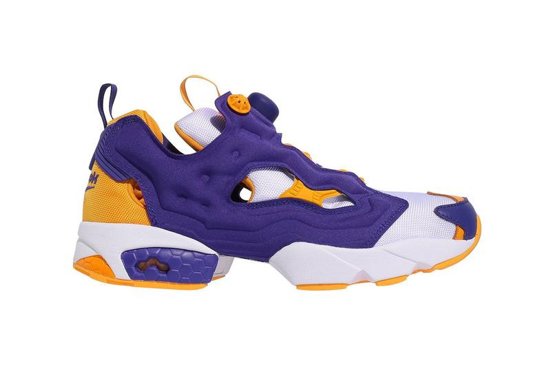 Reebok Instapump Fury OG Team White Team Purple College Gold