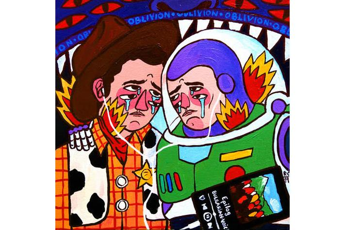 ricardo cavolo heros wound exhibition artworks paintings