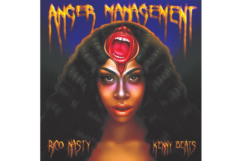 Rico Nasty & Kenny Beats 'Anger Management' Album Stream baauer splurge earthgang trap hip-hop rap electronic bass