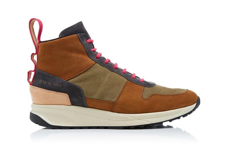 robert geller rg common projects runner fall winter 2019 sneaker shoe release contrast laces suede upper moda operandi