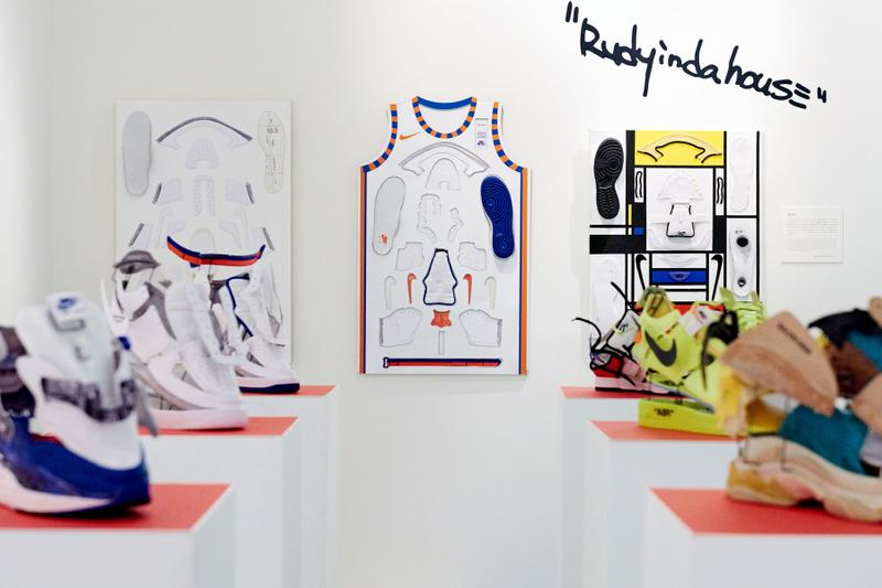 Kim Jungyoun & Rudy Sneaker Art Seoul Exhibition Off-White Jordan Comics Illustration