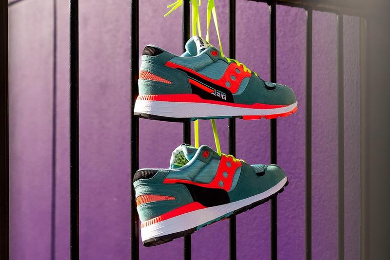 saucony azura neo tokyo teal red neon sneakers shoes spring summer 2019 ss19 where to buy price cost images pictures photos