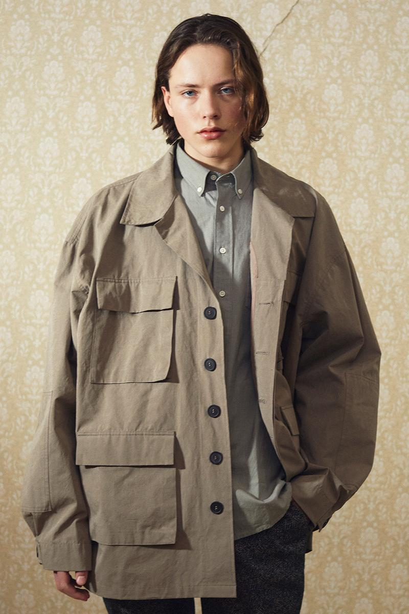 Schnayderman's Fall/Winter 2019 Collection Clothing Cop Purchase Buy Lookbook Lookbooks Collections 90s Inspired Mohair Cashmere Wool Viscose Camouflage Prints Blown Out Proportions Oversized Army Jackets Long Coats Checks Trousers Shirts
