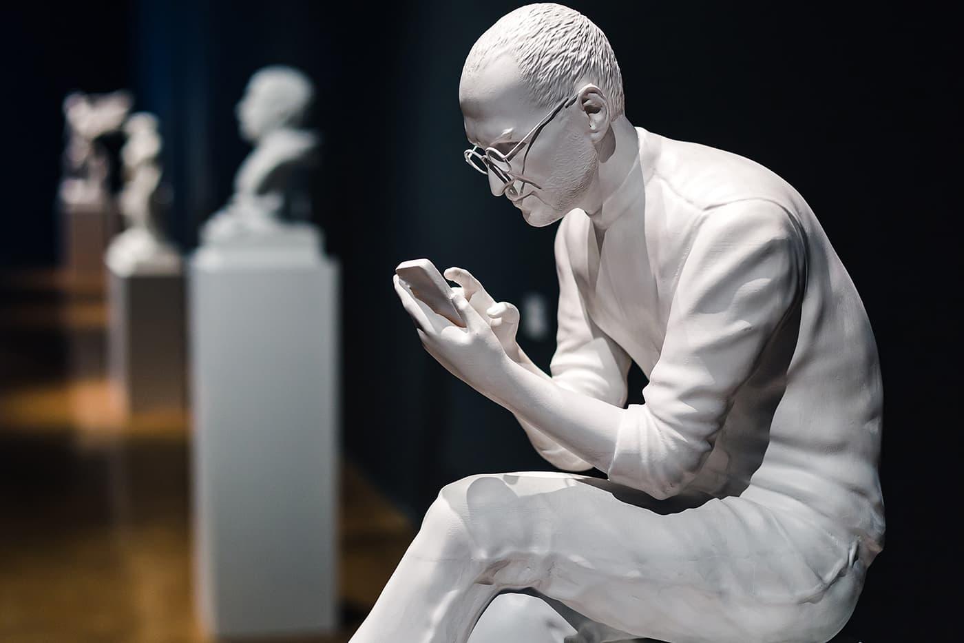 Sebastian Errazuriz Sculpts Mark Zuckerberg, Steve Jobs & Elon Musk as Roman Emperors