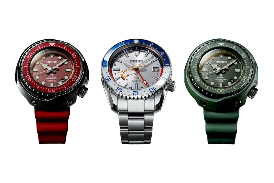 Seiko Celebrates 'Mobile Suit Gundam' 40th Anniversary With Prospex Collection