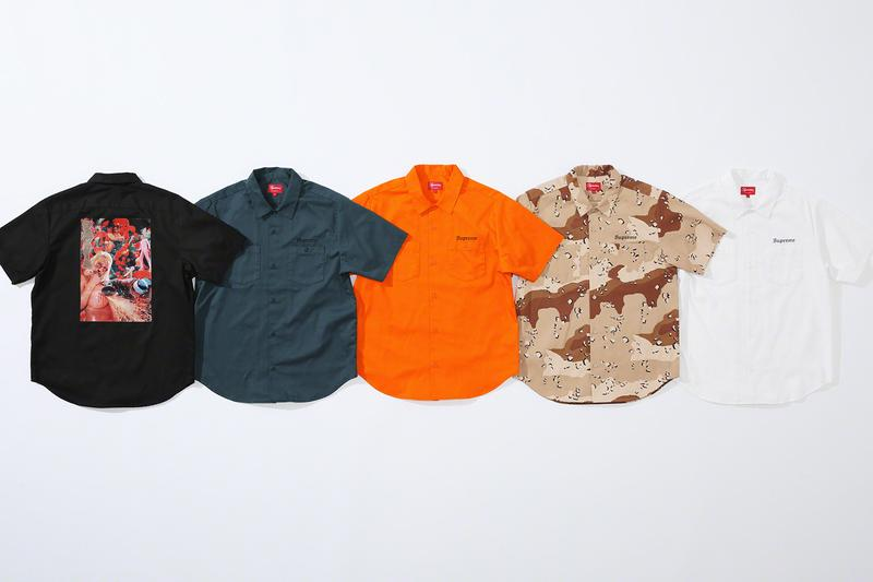 Supreme x Sekintani La Norihiro 2019 Summer Collection