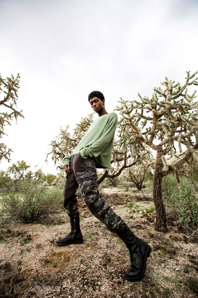 "Siberia Hills ""Alien Creatures"" SS19 Collection lookbooks arizona desert aliens"