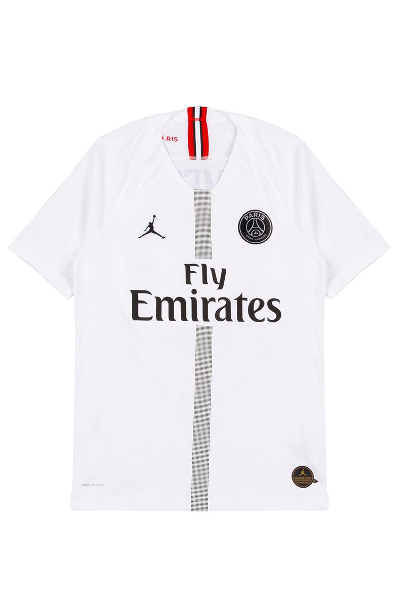 Smets Paris Saint-Germain Collaboration Release Jersey training jacket white black T shirt fifa
