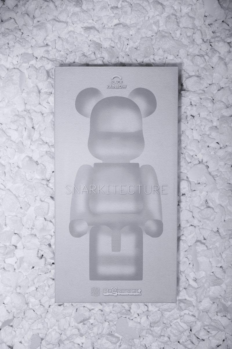 snarkitecture black rainbow agency medicom toy bearbrick artworks sculptures collectibles editions