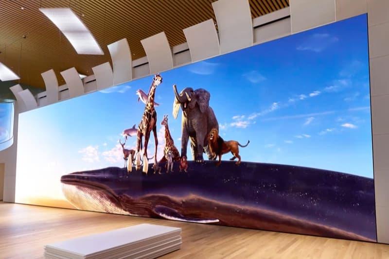 Sony Debuts 63-Foot-Tall 16K Screen in Japan led crystal screen tech technology Yokohama Shiseido