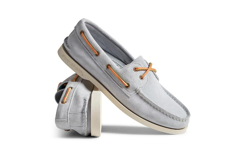 Sperry Spring Summer 2019 SS19 Collection Footwear Drop Release Date Information Brendon Babenzien NOAH NYC New York End Clothing Stockist Cloud Reinterpretation Top Sider Boat Shoe