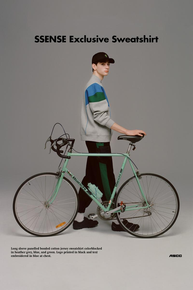 ADER SSENSE CYCLING CLUB error capsule collection collaboration exclusively april 11 2019 release date info buy bicycle biking sportswear athleisure