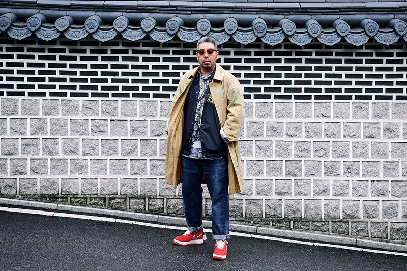 KB Lee Emotionally Unavailable Streetsnaps HYPEBEAST Korea EU Exclusive Canvas Nike Air Force 1 Interview Designer Fakesickness EUAIR