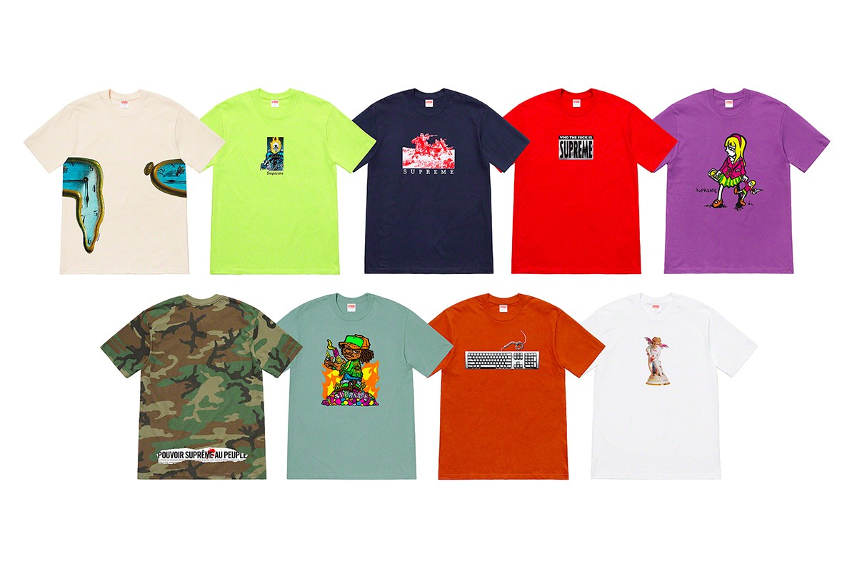 Supreme Palace Spring Summer 2019 Drop List Week 6 7 Rhude Thierry Lasry Slam Jam Brain Dead Blondey McCoy Awake NY Pharrell Williams Chanel