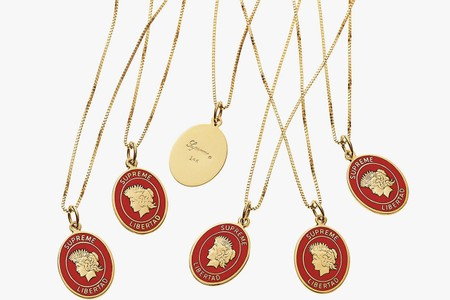 This Supreme 14k Gold Pendant Will Set You Back Nearly $500USD