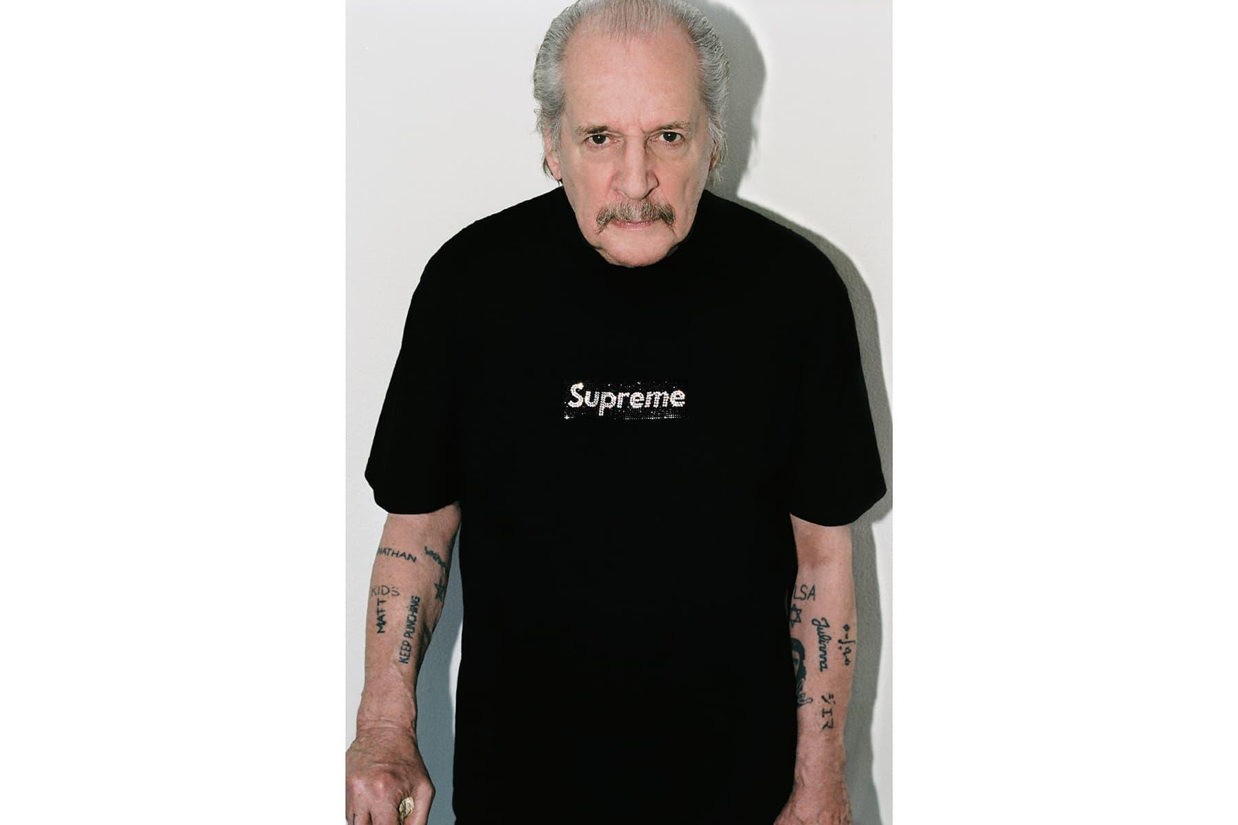 Supreme 25th Anniversary Swarovski Box Logo Collection