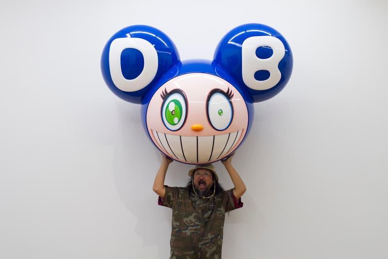 takashi murakami mr dob character history superflat artworks paintings installations sculptures