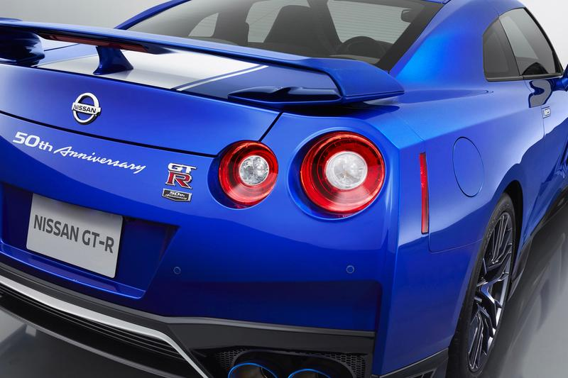 The Nissan GT-R 50th Anniversary Edition Debuts at the New York Auto Show racing cars speed