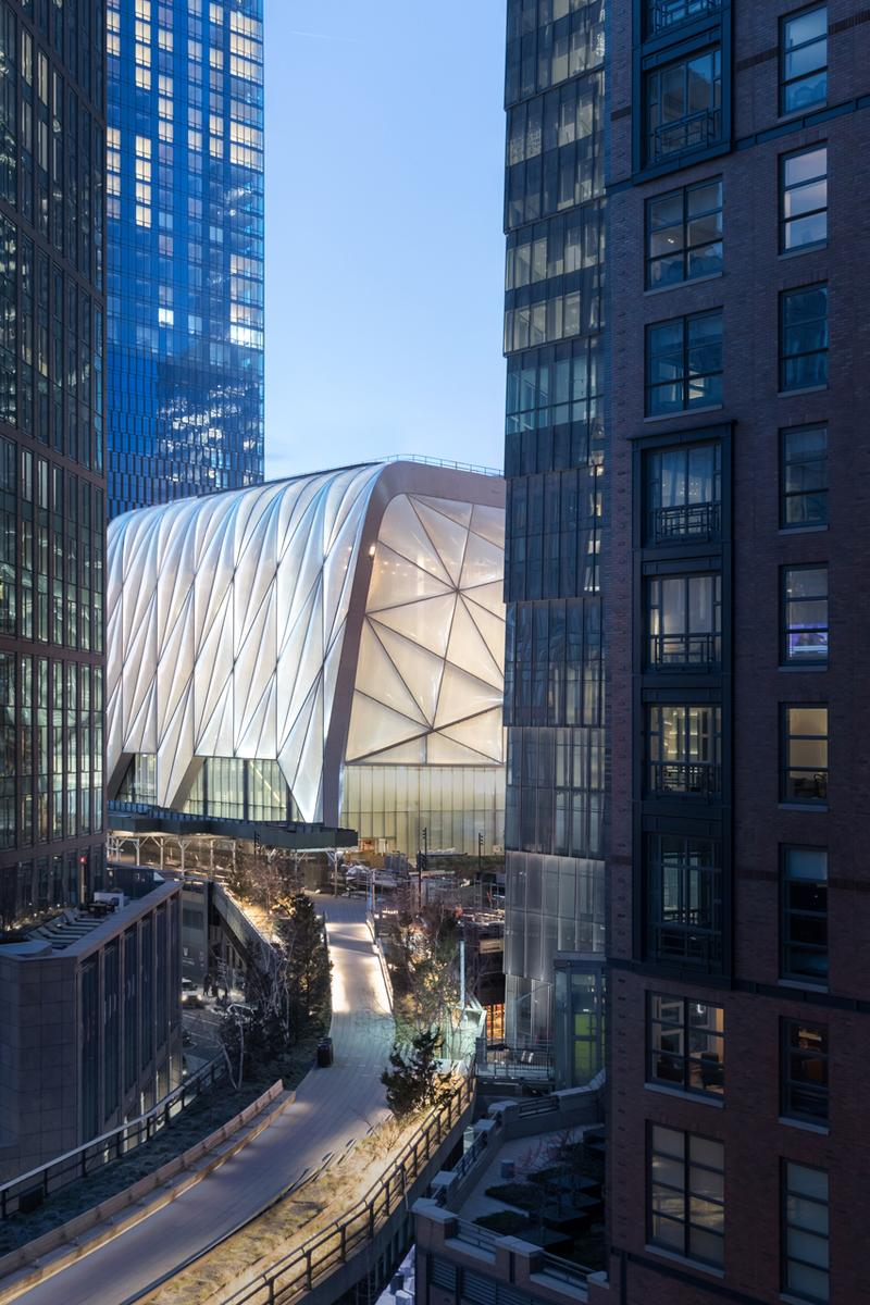 the shed hudson yards grand opening