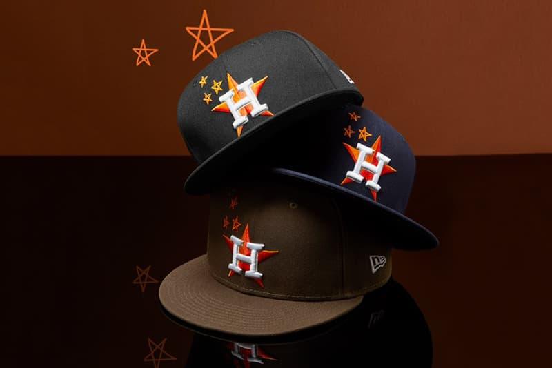Travis Scott New Era Houston Astros Cap Release Black Brown Blue Ast
