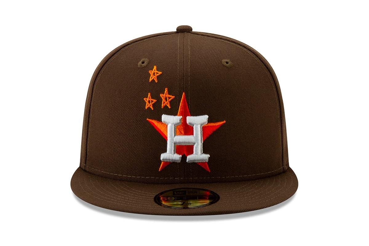 44090e44aab2f Travis Scott New Era Houston Astros Cap Release Black Brown Blue Ast