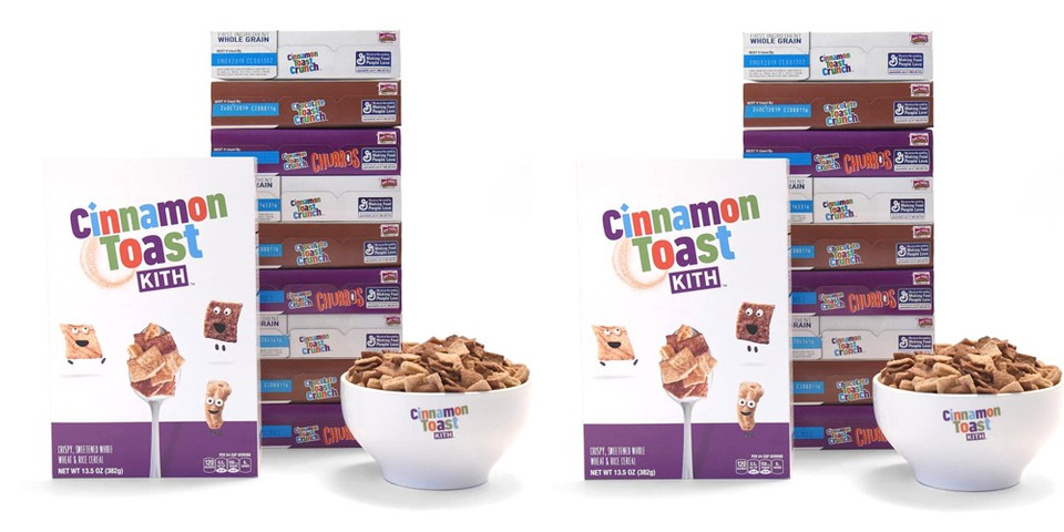 KITH Treats Is Dropping Its Own Cinnamon Toast Crunch Cereal