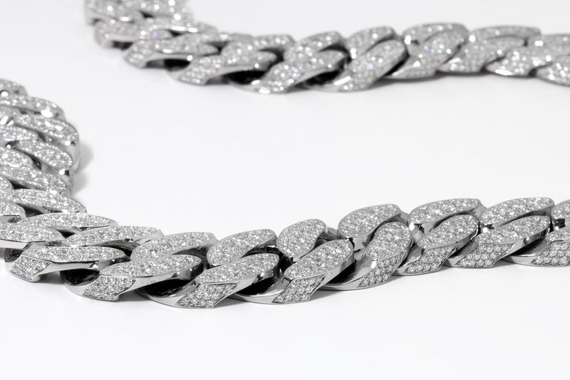Tyga x Ben Baller If & Co St. Michael Diamond Chain