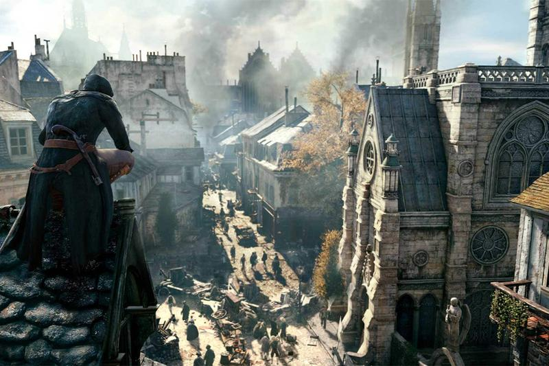 Ubisoft Offers Assassin's Creed Unity Free  Notre Dame Cathedral Donatio nParis france