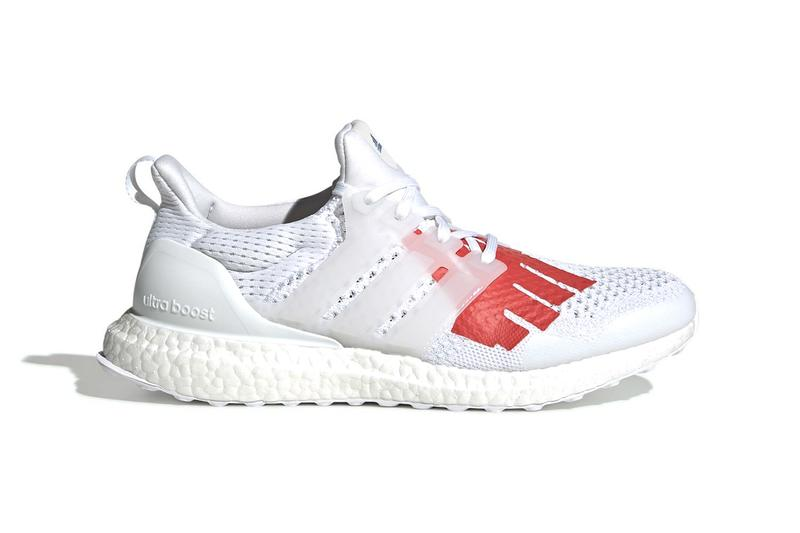 e97d54cdc94b3 UNDEFEATED x adidas UltraBOOST 1.0 Release white red five strikes blue  three strips james bond japan