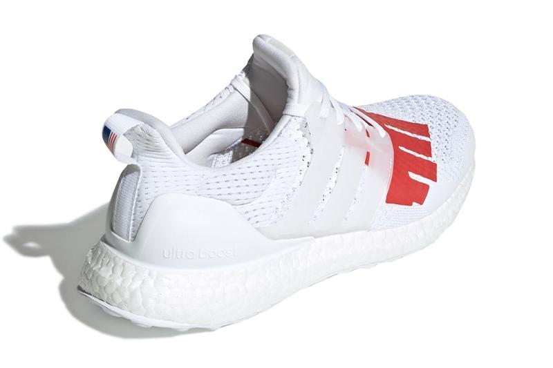 UNDEFEATED x adidas UltraBOOST 1.0 Release white red five strikes blue three strips james bond japan udftd release info america united states of america memorial day weekend