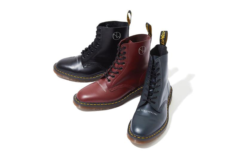 "UNDERCOVER x Dr. Martens ""New Warriors"" Collab the ss19 spring summer 2019 low top 1461 1460 boot colorway release date info buy april 13 2019 japan UCW4F03 UCW8F01"