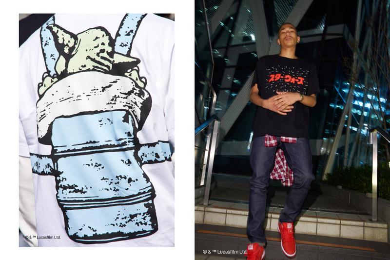 UNIQLO UT Marvel x Jason Polan Star Wars Capsule Collection master of designs spring summer 2019