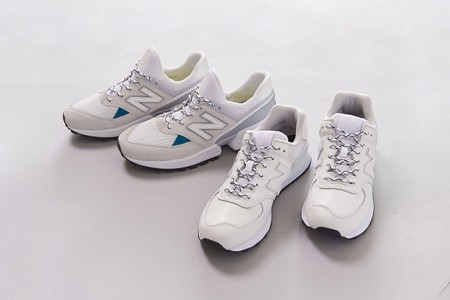 UNITED ARROWS Recruits New Balance for Two Pristine 574 Models