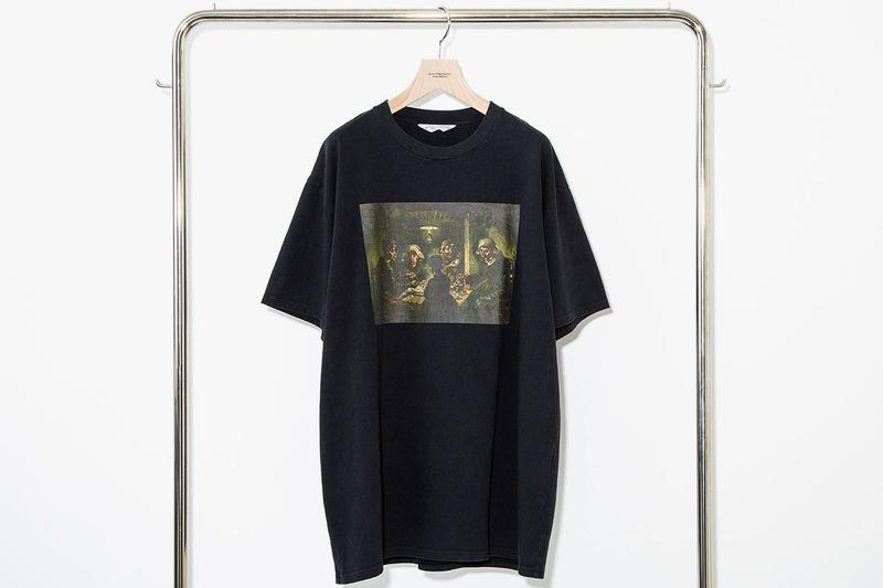 Vincent Van Gogh Museum x UNUSED SS19 spring summer 2019 shirts tee collaboration drop release date info april 12 2019 exclusive japan