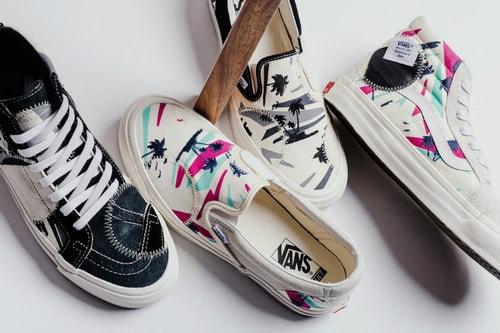 Vans Vault Drops New Tropical Pack