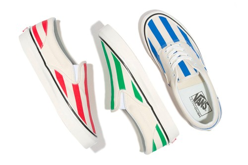 """Vans Drops a """"Candy-Stripe"""" Pack for the Warmer Months"""