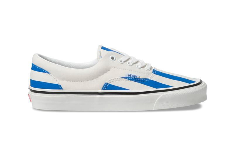 Vans Drops a Candy Stripe Pack for the Warmer Months era slipon shoes red blue green