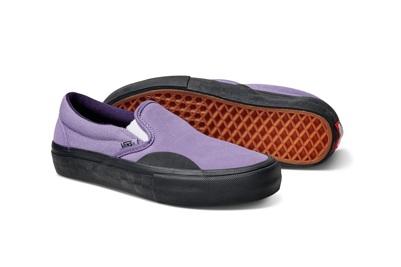 vans lizzie armanto lavender pack skate collection sk8 hi slip on pro