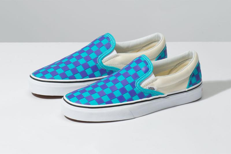 c193a36afe1ff1 Vans Thermochrome Color changing shifting temperature heat sensitive  checkerboard slip on old skool purple pink light