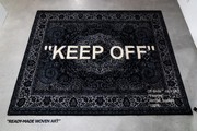 """You Can Now Order the Virgil Abloh x IKEA """"KEEP OFF"""" Rug"""