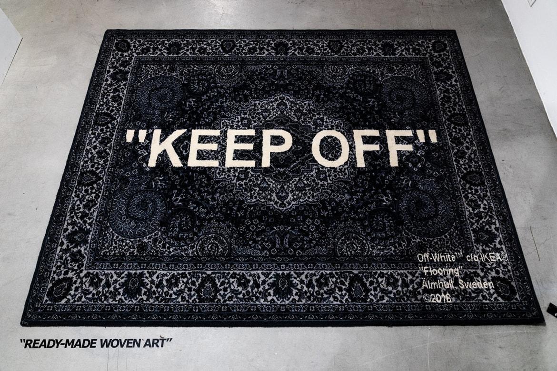 Virgil Abloh X Ikea Keep Off Rug